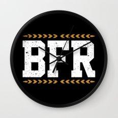 BFR Wall Clock