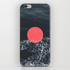 Ocean Circle iPhone & iPod Skin