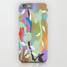 Black Butterflies iPhone 6 Slim Case