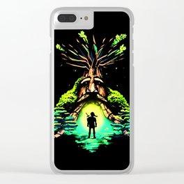 magic tree Clear iPhone Case