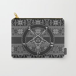 Satanic ugly sweater Carry-All Pouch