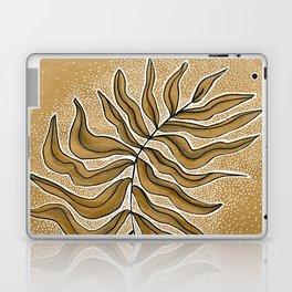 Meditation Leaf Laptop & iPad Skin