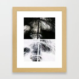 Nature Collage Framed Art Print