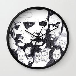 Actor's Studio Wall Clock