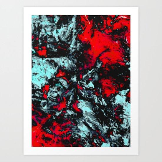 ε Merope Art Print