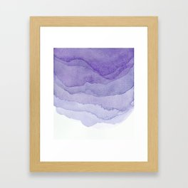 Lavender Flow Framed Art Print