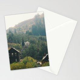 Old Mining Village Stationery Cards