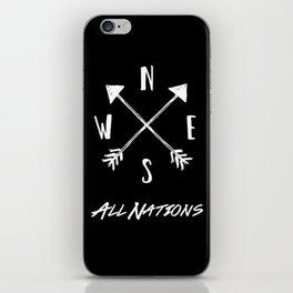 All Nations iPhone Skin