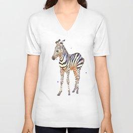 Striped Sweetie Unisex V-Neck