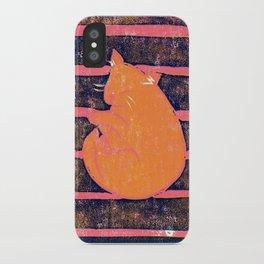 Mikan Cat iPhone Case