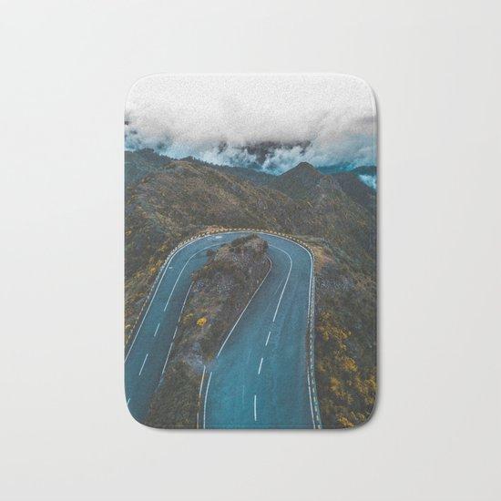 Road of life Bath Mat