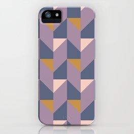 Midnight Geometric iPhone Case