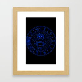 Cipher Wheel Mable Framed Art Print