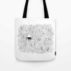 Where are the stagnant waters Tote Bag