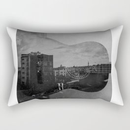 imaginary landscape Rectangular Pillow