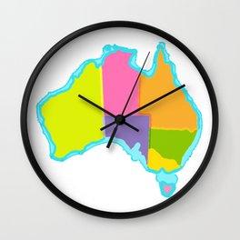 Politically Australia Wall Clock