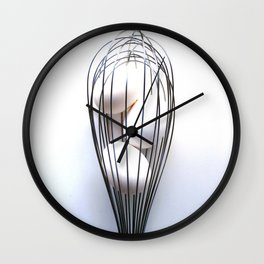 Whisk It Up Wall Clock