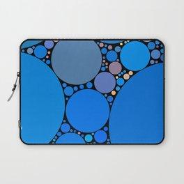 ariana redux: bright royal blue abstract ocean Laptop Sleeve