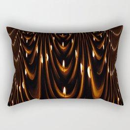 Candle Drape Rectangular Pillow