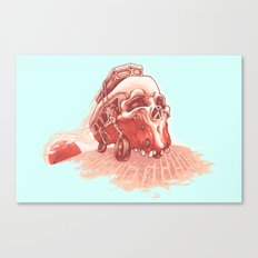 walking to dead! Canvas Print