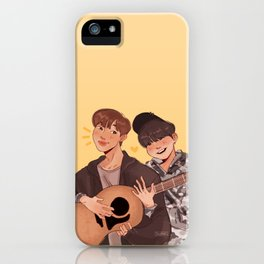 yoonjin guitar lessons iPhone Case