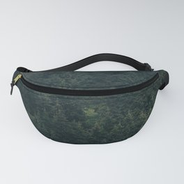 Mystic Pines - A Forest in the Fog Fanny Pack