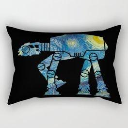 Starry Walker Rectangular Pillow