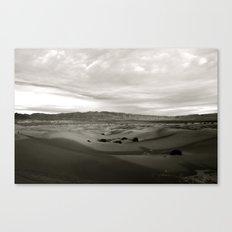 Never-Ending Sandy Ocean Canvas Print