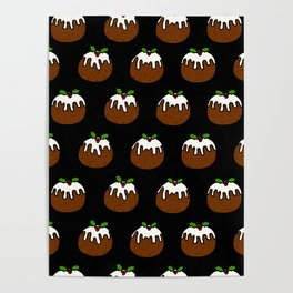 Christmas Puds Poster