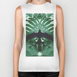 Raven In The Tropics Biker Tank