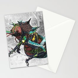 Frozen Beetle Stationery Cards