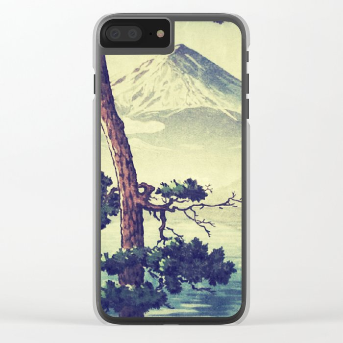 Once Was Wandering Clear iPhone Case