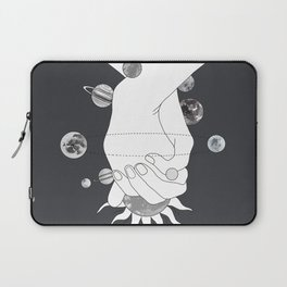 Everything Revolves Around Us II Laptop Sleeve
