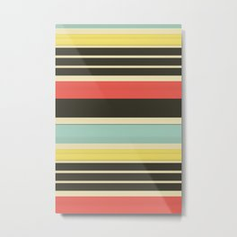 Stripes 42 Metal Print