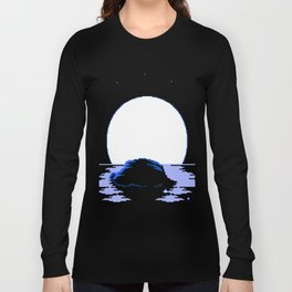 The  Whispering  Moon Long Sleeve T-shirt