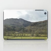 scotland iPad Cases featuring Scotland Countryside by Ashley Callan