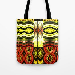 Fractured Ring 14 Tote Bag