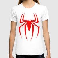spider man T-shirts featuring Spider Man by Sport_Designs