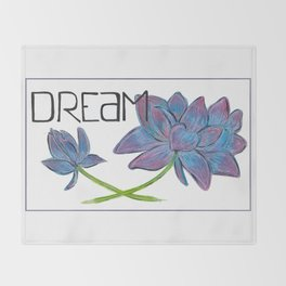 Dare to Dream Throw Blanket