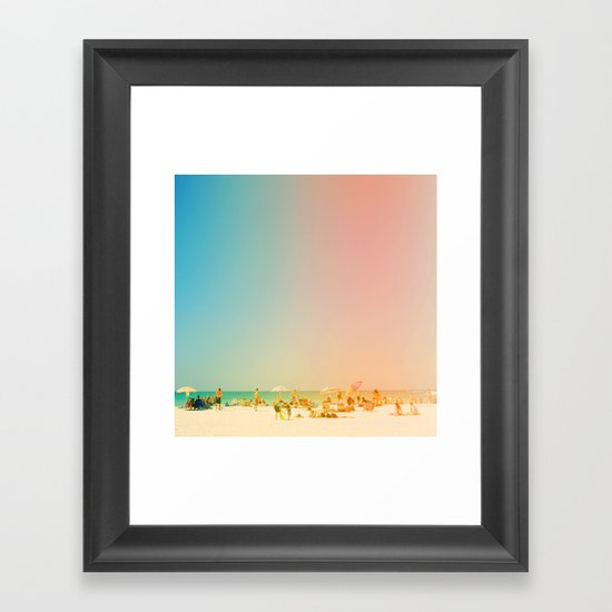Life in the Sun Framed Art Print