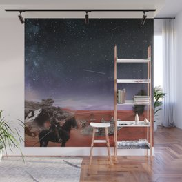 Invasion of Mars Wall Mural