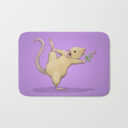 Yoga Rat, Day 5 Bath Mat