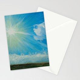 Warming the soul like manipura chakra Stationery Cards