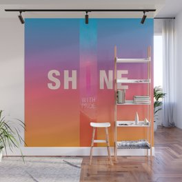 Shine With Pride 2018 Wall Mural