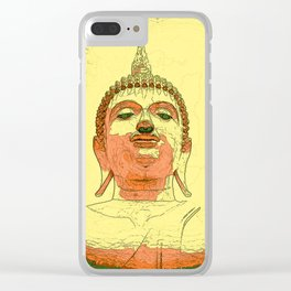 Looking For Buddha 26b Clear iPhone Case