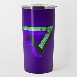 The infinity triangle inverted Travel Mug