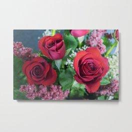 Valentine's Day Roses 4 Metal Print