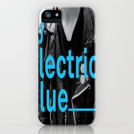 DJ Electric Blue / Pray for Taiwan iPhone Case