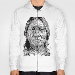 Sitting Bull Portrait Hoody