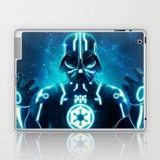 Tron Vader Blue Laptop & iPad Skin